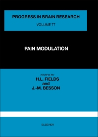 Pain Modulation - 1st Edition - ISBN: 9780444809841, 9780080862026