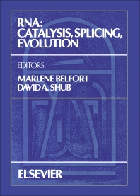 RNA: Catalysis, Splicing, Evolution - 1st Edition - ISBN: 9780444812100, 9780444599711