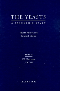 Cover image for The Yeasts - A Taxonomic Study
