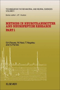 Methods in Neurotransmitter and Neuropeptide Research - 1st Edition - ISBN: 9780444813695, 9781483290225