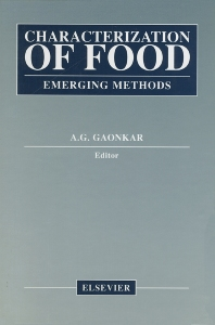 Cover image for Characterization of Food