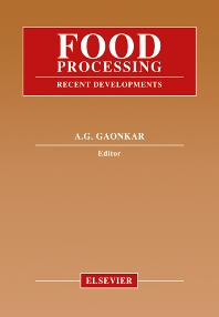 Food Processing, 1st Edition,Anilkumar Gaonkar,ISBN9780444815002