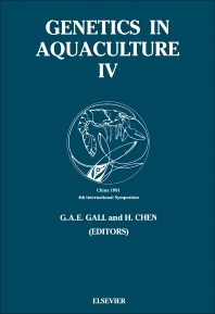 Genetics in Aquaculture - 1st Edition - ISBN: 9780444815279, 9781483290294