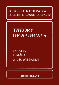 Theory of Radicals - 1st Edition - ISBN: 9780444815286, 9781483296449