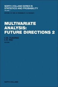 Cover image for Multivariate Analysis: Future Directions 2