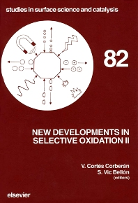 Cover image for New Developments in Selective Oxidation II