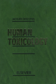 cover of Human Toxicology - 1st Edition