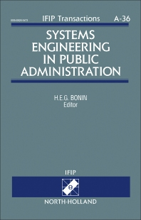 Systems Engineering in Public Administration - 1st Edition - ISBN: 9780444815606, 9781483298443