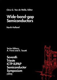 Wide-band-gap Semiconductors - 1st Edition - ISBN: 9780444815736, 9780444599179