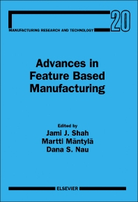Cover image for Advances in Feature Based Manufacturing