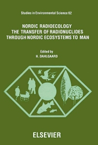 Cover image for Nordic Radioecology