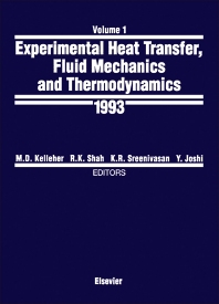 Cover image for Experimental Heat Transfer, Fluid Mechanics and Thermodynamics 1993