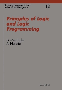 Cover image for Principles of Logic and Logic Programming