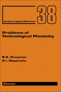 Cover image for Problems of Technological Plasticity