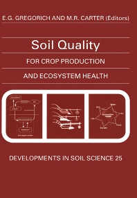 Soil Quality for Crop Production and Ecosystem Health, 1st Edition,E.G. Gregorich,M.R. Carter,ISBN9780444816610