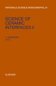 Cover image for Science of Ceramic Interfaces II