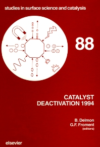 Cover image for Catalyst Deactivation 1994