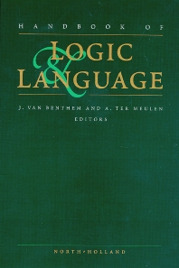 Cover image for Handbook of Logic and Language