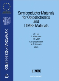 Cover image for Semiconductor Materials for Optoelectronics and LTMBE Materials