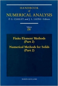 Finite Element Methods (Part 2), Numerical Methods for Solids (Part 2) - 1st Edition - ISBN: 9780444817945, 9780080953502