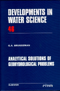 Analytical Solutions of Geohydrological Problems - 1st Edition - ISBN: 9780444818294, 9780080527130