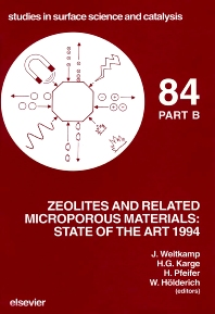Cover image for Zeolites and Related Microporous Materials: State of the Art 1994
