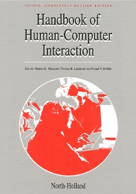 Handbook of Human-Computer Interaction - 2nd Edition - ISBN: 9780444818621, 9780080532882