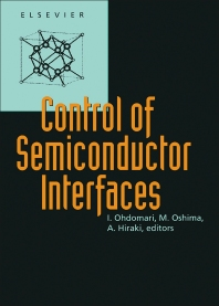 Cover image for Control of Semiconductor Interfaces