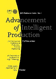Cover image for Advancement of Intelligent Production