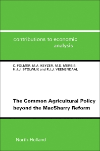 The Common Agricultural Policy beyond the MacSharry Reform - 1st Edition - ISBN: 9780444819727, 9781483290539