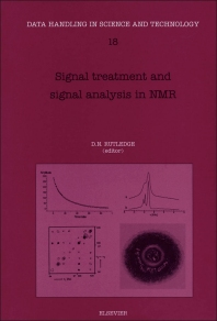Signal Treatment and Signal Analysis in NMR - 1st Edition - ISBN: 9780444819864, 9780080541204