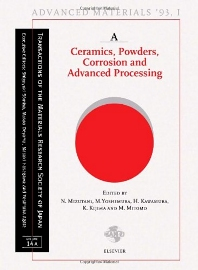Cover image for Advanced Materials '93