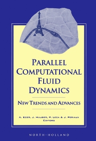 Cover image for Parallel Computational Fluid Dynamics '93