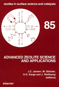 Cover image for Advanced Zeolite Science and Applications
