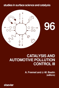 Catalysis and Automotive Pollution Control III - 1st Edition - ISBN: 9780444820198, 9780080544687