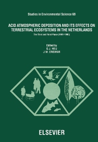 Cover image for Acid Atmospheric Deposition and its Effects on Terrestrial Ecosystems in The Netherlands