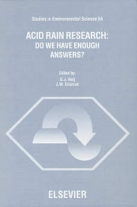 Cover image for Acid Rain Research: Do We Have Enough Answers?