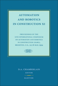 Cover image for Automation and Robotics in Construction XI