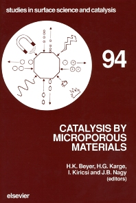 Cover image for Catalysis by Microporous Materials