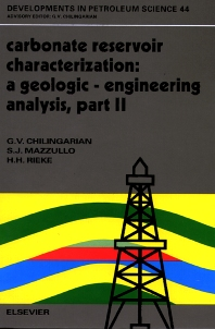 Cover image for Carbonate Reservoir Characterization: A Geologic-Engineering Analysis, Part II