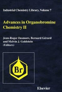 Advances in Organobromine Chemistry II - 1st Edition - ISBN: 9780444821058, 9780080544649