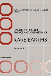 Handbook on the Physics and Chemistry of Rare Earths - 1st Edition - ISBN: 9780444821782, 9780080933283