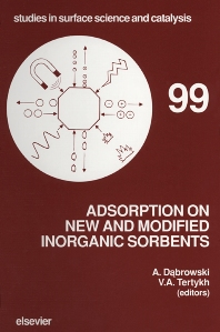 Cover image for Adsorption on New and Modified Inorganic Sorbents