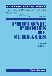 Photonic Probes of Surfaces - 1st Edition - ISBN: 9780444821980, 9780444599346