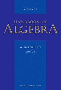 Cover image for Handbook of Algebra