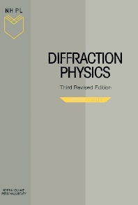 Diffraction Physics, 3rd Edition,J.M. Cowley,ISBN9780444822185