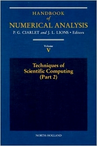 Cover image for Techniques of Scientific Computing (Part 2)