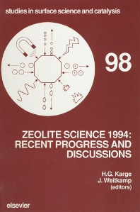 Zeolite Science 1994: Recent Progress and Discussions - 1st Edition - ISBN: 9780444823083, 9780080544700