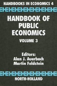 Handbook of Public Economics - 1st Edition - ISBN: 9780444823144, 9780080544199