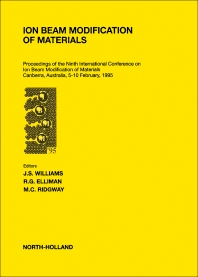 Cover image for Ion Beam Modification of Materials